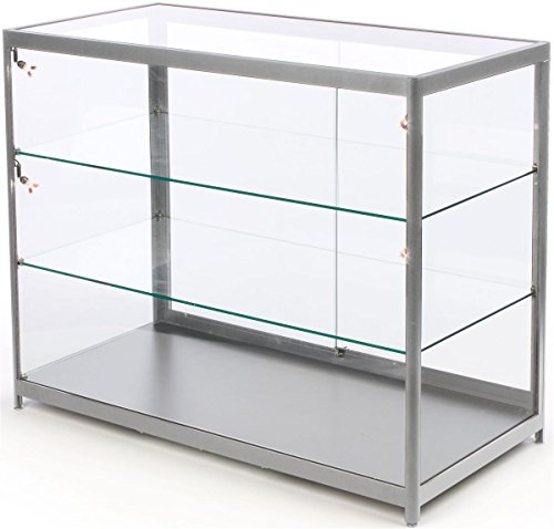 Cases Glass Display Locking - 48