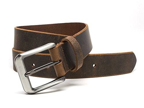 Nickel Free Mountain Distressed Belt Handmade product image