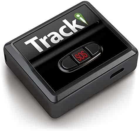 Tracki 2019 Model Mini Real time GPS Tracker. Full USA & Worldwide Coverage. For Vehicles, Car, Kids, Dog, pet cat child elderly drone motorcycle bike auto. Small Portable GPS Tracking Device Magnetic