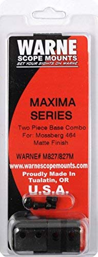 Warne Scope Mounts M827/827M Mossberg 464 Scope Rings, Matte