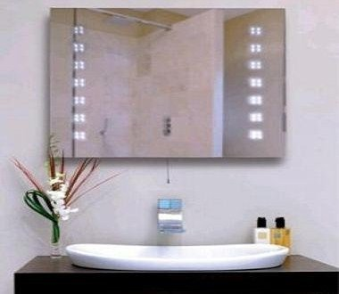 Illuminated led bathroom mirror amazon lighting illuminated led bathroom mirror aloadofball Image collections