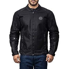 Royal Enfield Streetwind Riding Jacket Black (XL) 44 CM(RRGJKK000004)