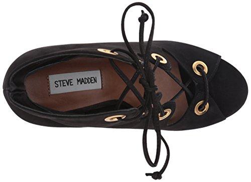Women's Carusso Steve Nubuck Black Madden Boot Yq55xF8