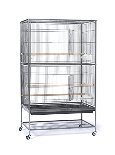 Great Companions Large Bird Cage - Prevue Hendryx Wrought Iron Flight Cage