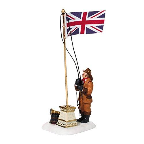 Dept 56 Accessories Dickens' Raising The Flag Dickens' Village - Porcelain 5.50 IN
