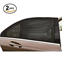 MOMONY Car Window Shade Universal Fit Car Rear Side Windows Sunshades wit UV ...
