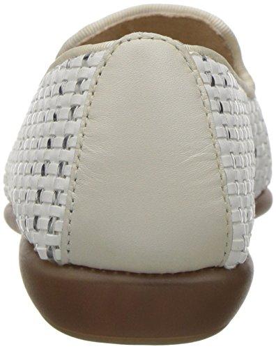 Blanco Loafer Betunia Mujer para Aerosoles avgqw