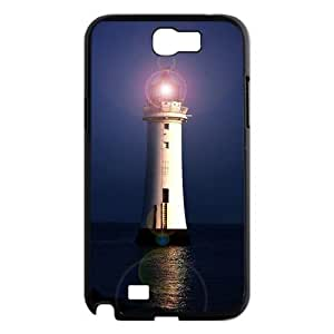 Lighthouse Brand New Cover Case for Samsung Galaxy Note 2 N7100,diy case cover ygtg544693