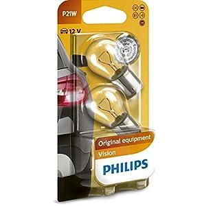 Philips 0730012 12498B2 P21W Premium 12 V – Pack of 2