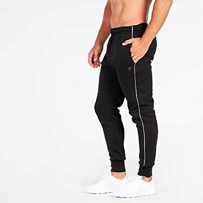 Pantalón Chándal Negro Hombre Up Basic Felpa (Talla: XL): Amazon ...