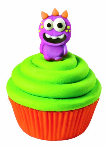 Show Wilton 710-0230 Monster Icing Decorations, 12-Pack price