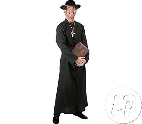 Prete itGiochi Reverendo Da SacerdoteAmazon Tonaca Nero Costume hdtrosCBQx