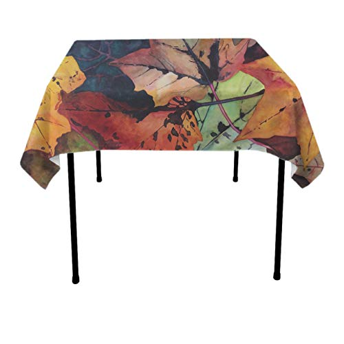 Table Cloth, Dust-Proof Wrinkle Free Table Cloth, Square/Rectangular