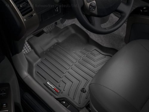 442441 WeatherTech Custom Fit Front FloorLiner for Chevrolet Aveo//Pontiac G3 Black
