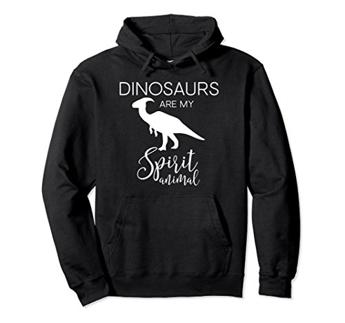 Unisex Cute Funny & Unique Dinosaurs Lover Gift Hoodie J000388 Medium Black