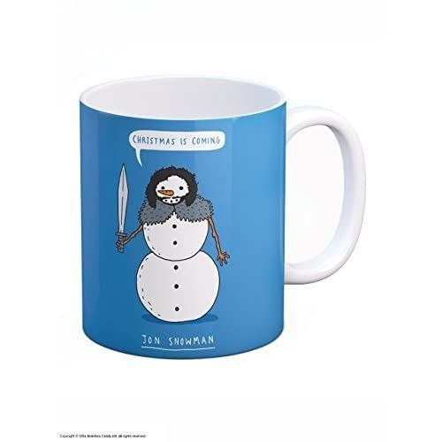 funny christmas is coming jon snowman got boxed mug - Cheap Christmas Mugs