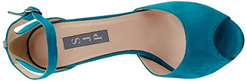 Sjp Suede Parker Escarpins Jessica Turquoise Sarah Marquee By Bout Ouvert Femme teal BPqarwB