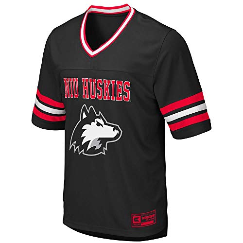 Colosseum Mens Northern Illinois Huskies Football Jersey - M - Illinois Football Jersey