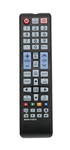 New BN59-01267A Replaced Remote Control for Samsung HDTV UN40M530DAFXZA UN43MU6290FXZA UN49M530DAFXZA LN32C450E1V UN32M530DAFXZA UN49MU6290FXZA UN55MU6290FXZA UN65MU6290FXZA