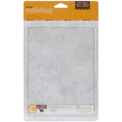Provo Craft Cuttlebug Adapter Plate C, 5.875