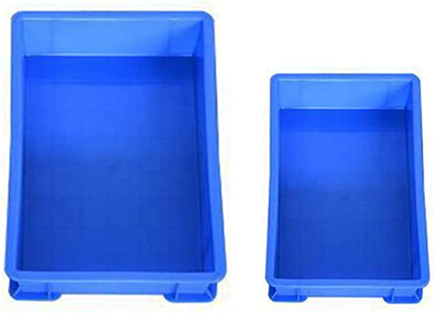 YOFASEN Caja Plastico Almacenaje - Durable Apilable Cajas de Almacenaje Plastico, 2 Piezas, 2Pcs-Azúl, 10+9: Amazon.es: Hogar