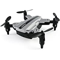 [JJRC Quadcopter] H54W Mini Foldable Pocket Drone Mini FPV Quadcopter Selfie 480P WiFi Camera (Sliver)
