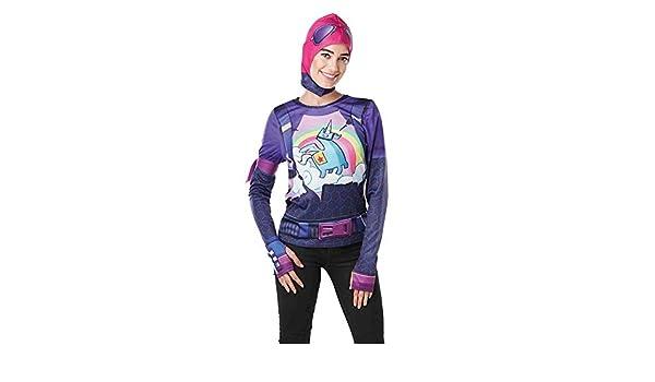 DISBACANAL Camiseta de Fortnite Brite Bomber niña y Adolescente ...