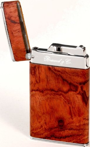 Brizard & Co. Sottile Exotic Bubinga Cigar Lighters by Brizard & Co (Image #2)