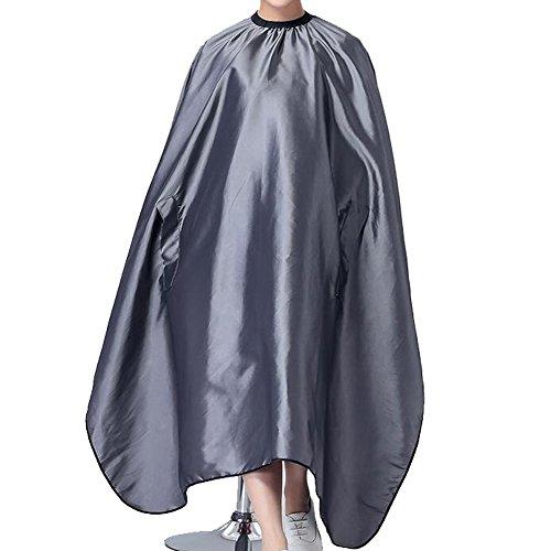 hair-salon-cape-waterproof-hair-cutting-apron-barber-bibs-gray