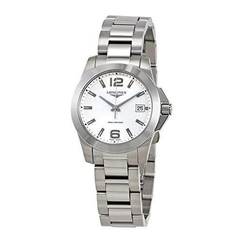 Longines Conquest Silver Dial Ladies Watch L33774766
