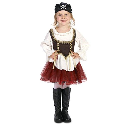 Pirate Tutu Girl Toddler Dress up Costume 2-4T -