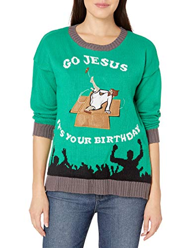 Blizzard Bay Women's Ugly Christmas Jesus Sweater