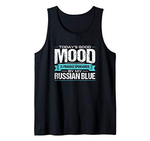 - Funny Russian Blue Cat Tank Top