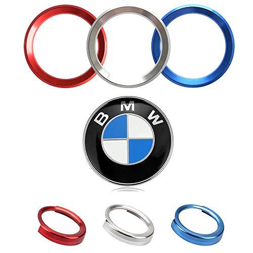 Violet-BMW F20 F30 Alu Steering Wheel Badge Surround 1 2 3 4 série 5
