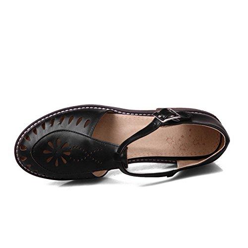 ASL05246 Compensées Sandales Noir Noir BalaMasa 36 Femme 5 4wdRqda