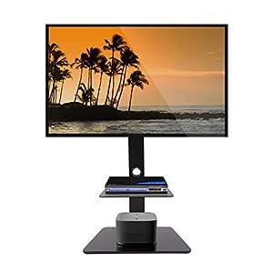 Fleximounts TS01 Meuble TV avec Support pour Cantilever Télé Pivotant pour Ecran LED LCD Plasma 32 à 65 Pouce avec 2…