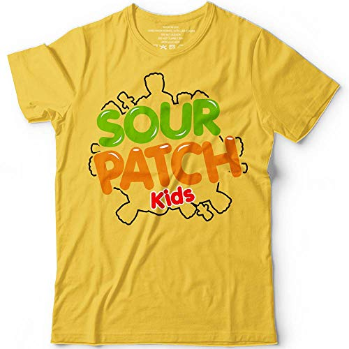 Sour Gummy Patch Kids Candy Halloween Costume Sour Then Sweet Candy Shirt Shirt Youth Adults Kids Men Women Customized Handmade Hoodie/Sweater/Long Sleeve/Tank Top/Premium T-shirt -