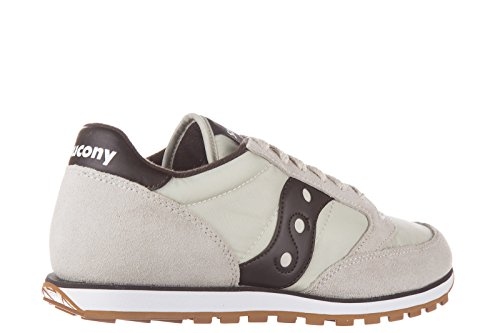 Saucony zapatos zapatillas de deporte hombres en ante nuevo jazz low pro beige