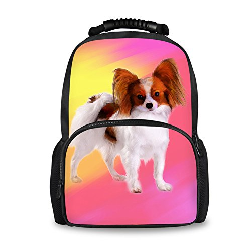 Coloranimal Kawaii Puppy Dog Printing Backpack for Women Ladies Travel Accessories ()
