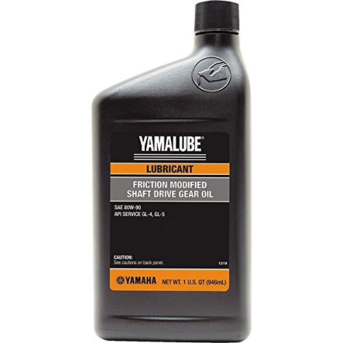 Yamaha ACC-SHAFT-LU-00 Fric. Mod. Gear Oil 32Oz; ACCSHAFTLU00 Made by Yamaha