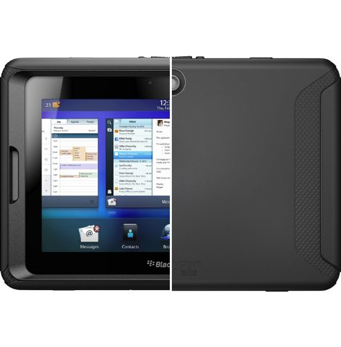 Otterbox BlackBerry Playbook Defender, Black (RBB2-PLYBK-20-E4OTR) Blackberry Playbook Silicone Case
