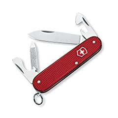 The Alox Cadet gives you the best of both worlds: sophistication and durability. Timeless Alox scales house some of the most popular Swiss Army Knife functions, all in one contemporary pocket knife. The Cadet's slim profile and 84mm size give...