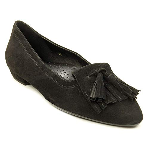 VANELi Womens Gemma Almond Toe, Black Suede, Size 10.5 from VANELi