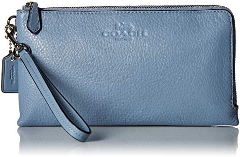 Womens Pebbled Leather Double Wallet product image
