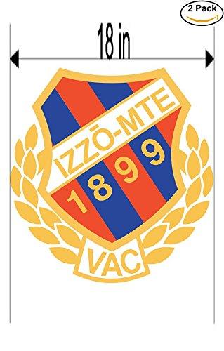 Izzo-MTE Vac Hungary Soccer Football Club FC 2 Stickers Car Bumper Window Sticker Decal Huge 18 - Bumper Vac