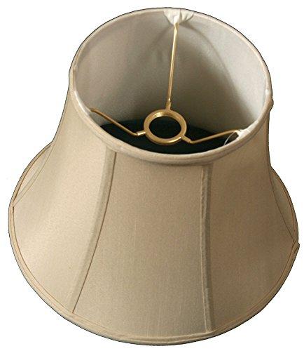 Royal Designs BS-708U-10BG Modified Bell Lamp Shade, Beige, 6.5 x 10 x 8.5, UNO Floor Lamp