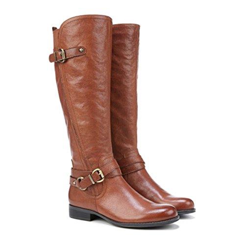 Naturalizer Womens Jodee-WC Wide Calf Knee High Boot (6 B(M) US, Banana Bread)