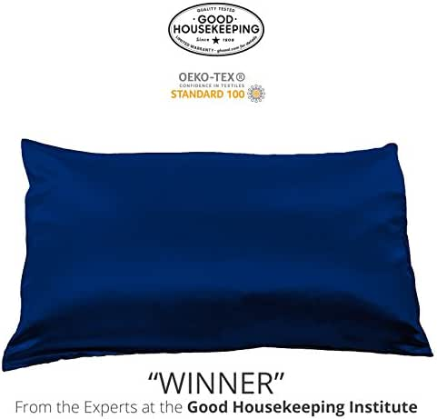 Fishers Finery 25mm Luxury 100% Pure Mulberry Silk Pillowcase Good Housekeeping Winner