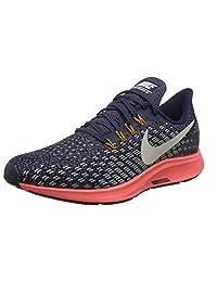 3379f7f34349 Nike Women s Air Zoom Pegasus 35 Blackened Blue Moon Particle Running Shoe  9.5 Women US