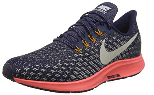 - Nike Women's Air Zoom Pegasus 35 Blackened Blue/Moon Particle Running Shoe 7 Women US